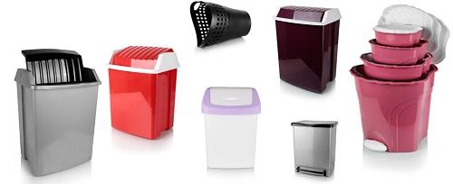 سطل زباله پلاستیکی آشپزخانه جدید