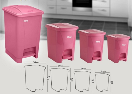 زباله پلاستیکی آشپزخانه جدید
