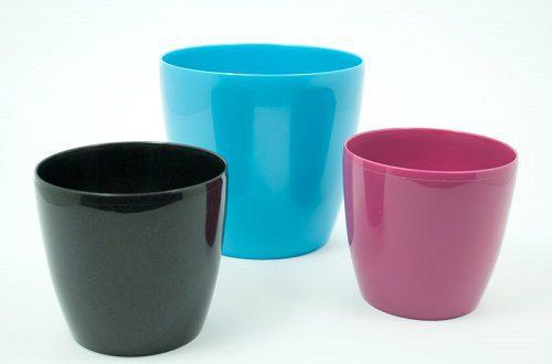 گلدان پلاستیکی ساده