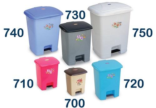 سطل زباله پلاستیکی کوچک