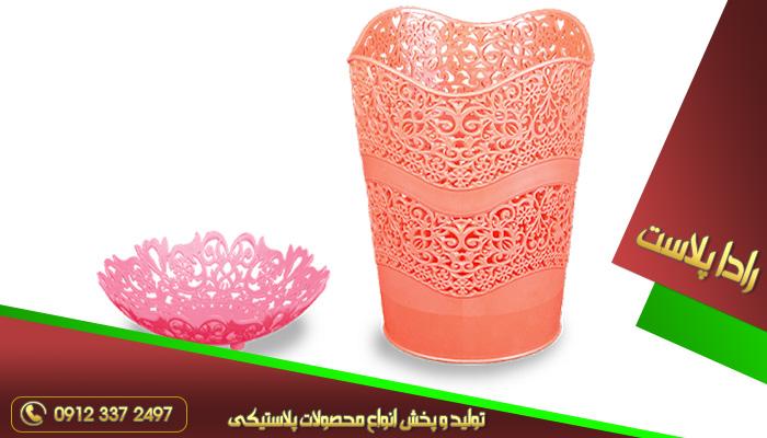 گلدان پلاستیکی فانتزی ارزان